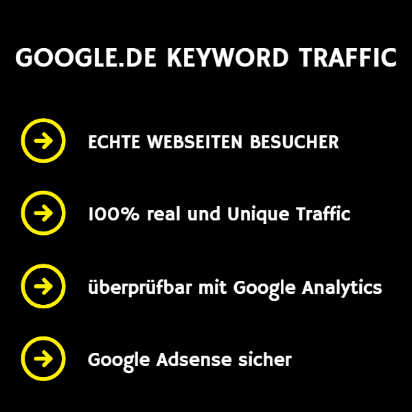 Google.de Keyword Traffic