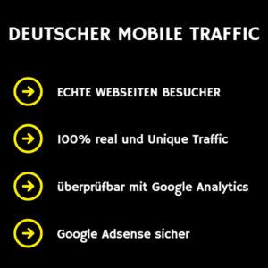 deutscher mobile Traffic